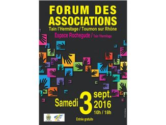 Forum des associations Tain-tournon 2016