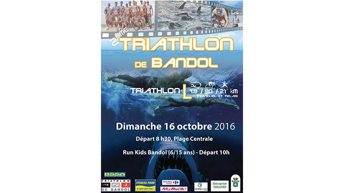 Triathlon bandol 2016